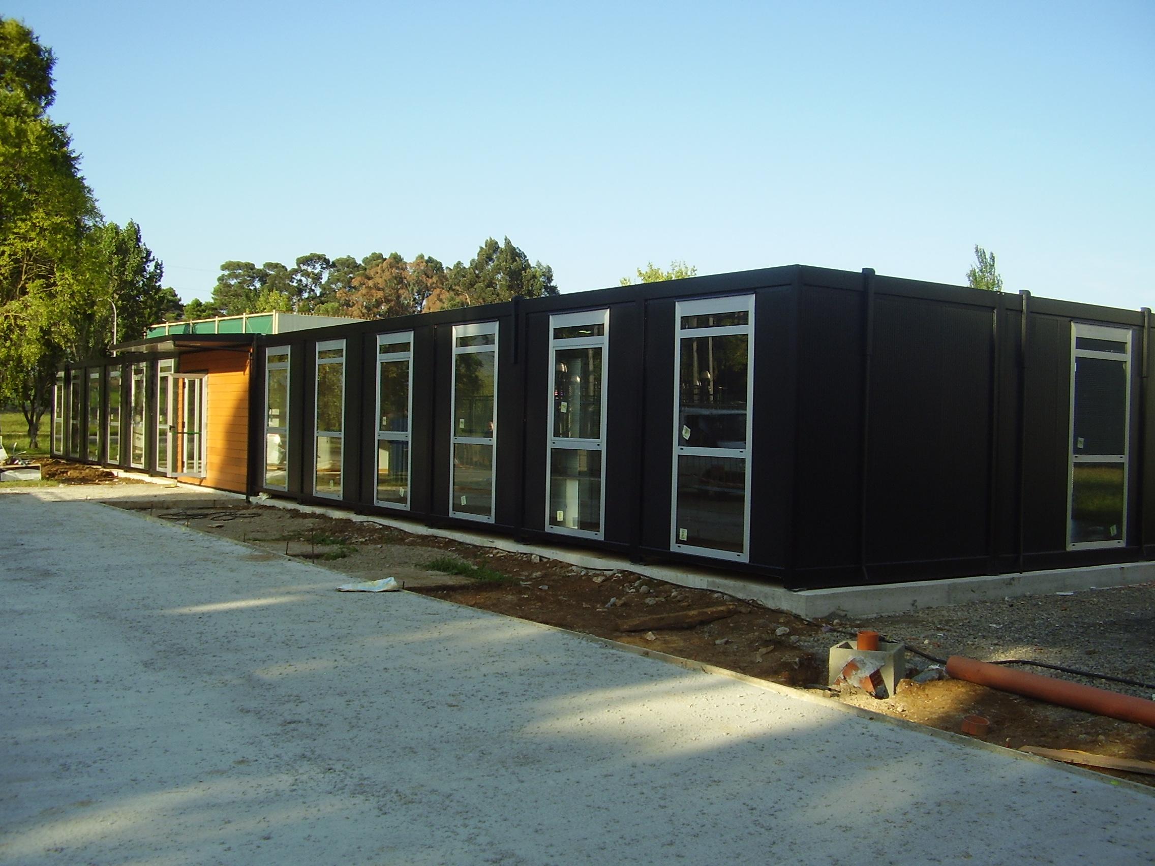 construction modulaire bureau et administration. Black Bedroom Furniture Sets. Home Design Ideas