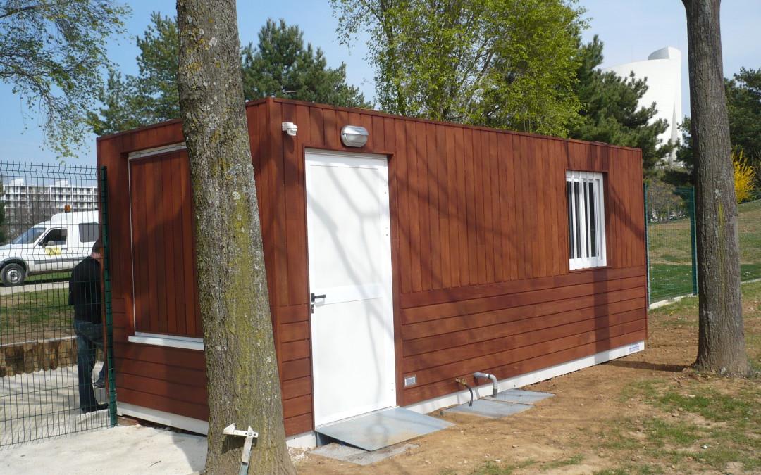 suggestions d 39 am nagement pour un bureau de jardin. Black Bedroom Furniture Sets. Home Design Ideas