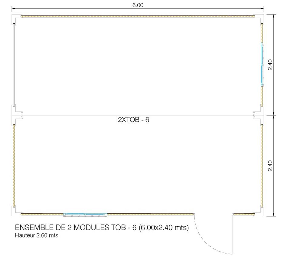 ensemble modulaire neuf Toulouse