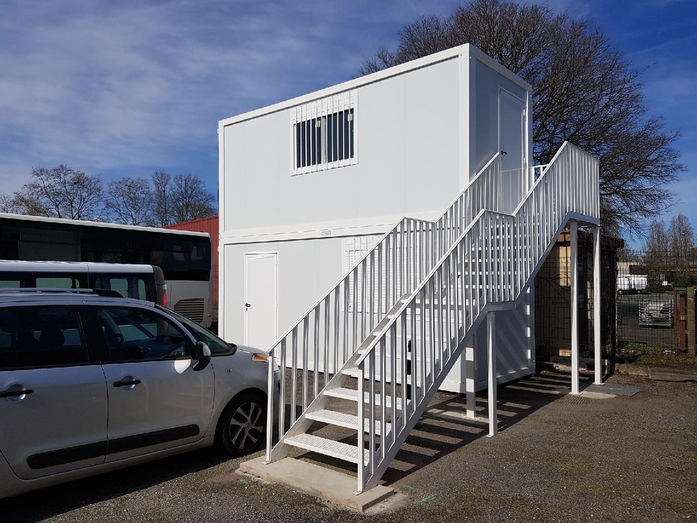Bureaux modulaires R+1 Toulouse