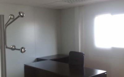 Construction modulaire de bureaux