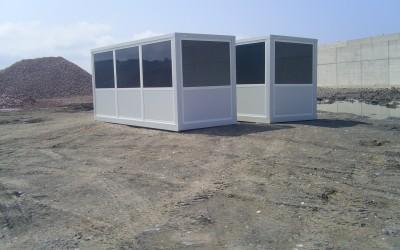 Construction modulaire accueil et/ou surveillance