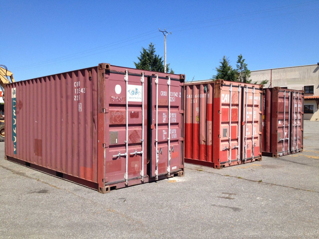 Containers 20′ DRY Occasion