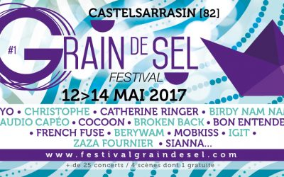 Festival Grain de Sel du 12 au 14 mai 2017